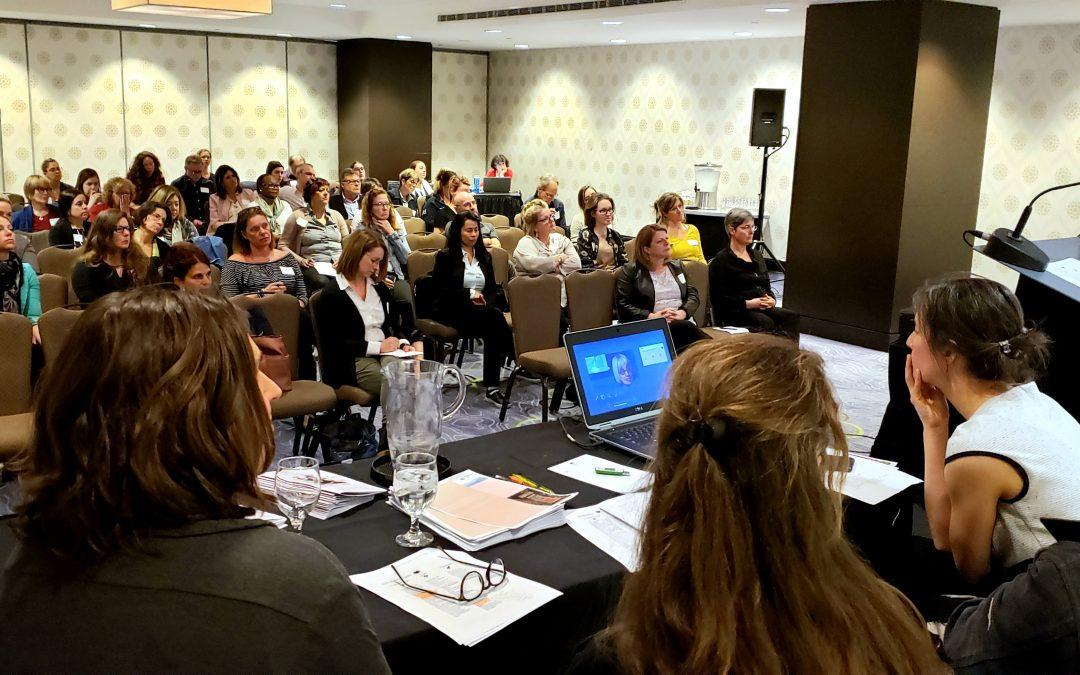 Participation au congrès 2019 de l'Association québécoise de soins palliatifs